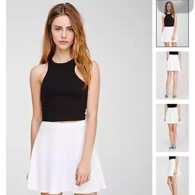 Forever21 基本款 白裙