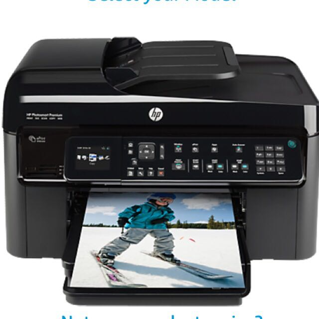 Hp Photosmart Premium Fax E-All-In-One C410 Series Printer