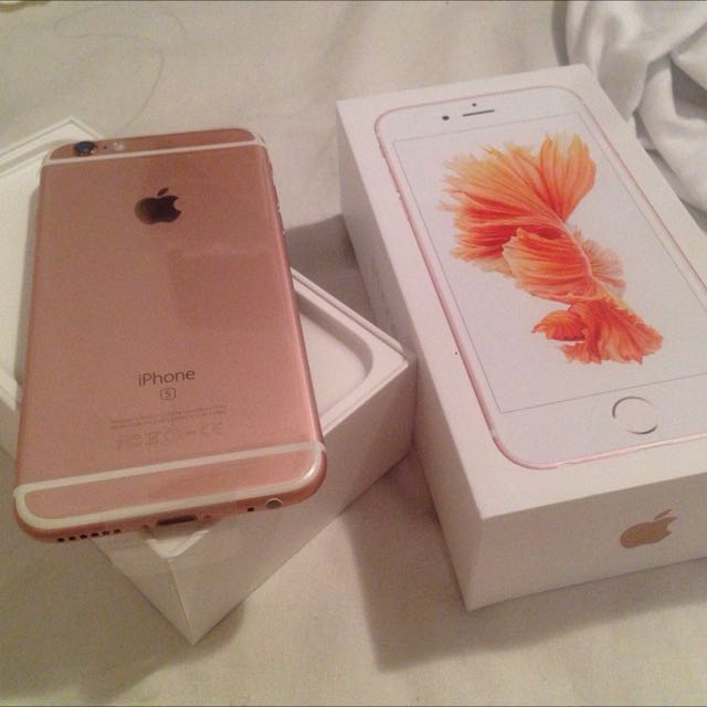 iPhone 6s Plus玫瑰粉64G