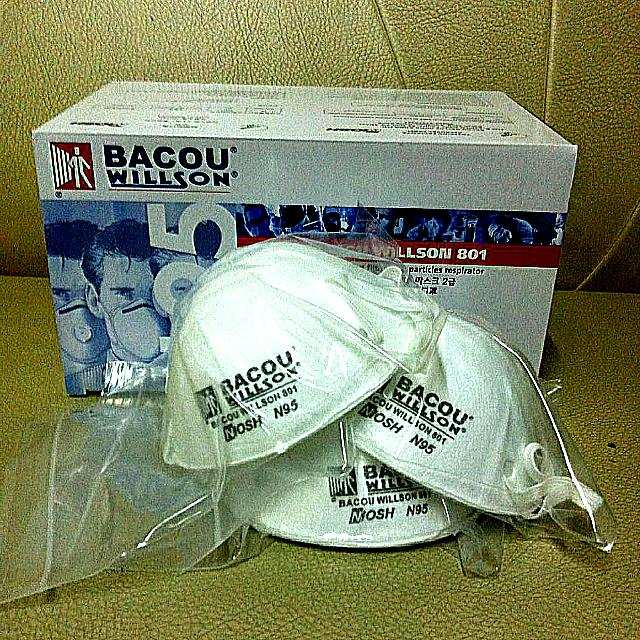 N95 Mask Carousell Individual Everything Else Pack Face On