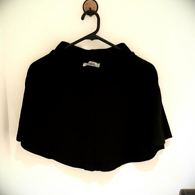 Pull & Bear Black A Skirt