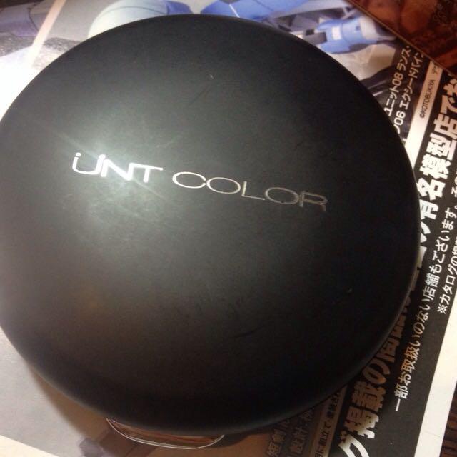 UNT 控油 遮瑕 好用粉餅 便宜出售 蜜糖 自然色 9成新