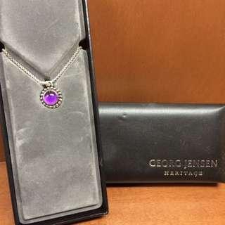 Georg Jenson 9A紫水晶項鍊