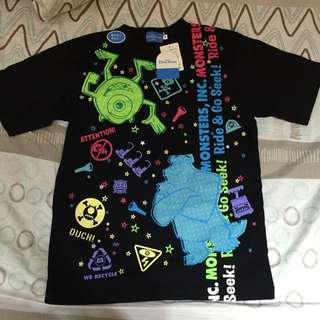 日本🇯🇵迪士尼 Disney 怪獸電力公司 T恤 衣服