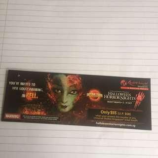 Universal Studios Singapore Halloween Horror Nights Discount Voucher