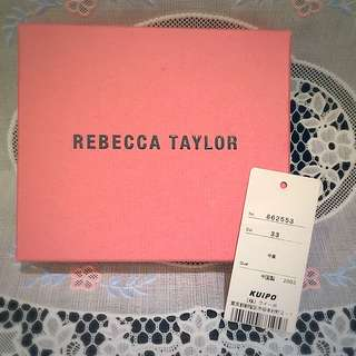 Rebecca Taylor Baby Pink Patent Wallet (Japan)