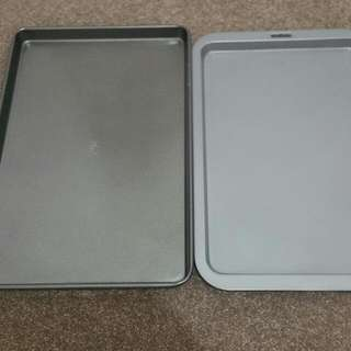 Two Large Baking Trays