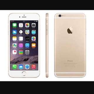 iphone 6 plus 64G 金色