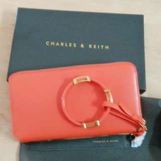 charles & keith 小CK長夾