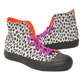 Converse豹紋搖滾風格帆布鞋-36號