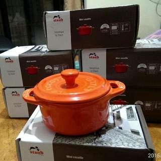 Staub小陶鍋10cm『❇限量款橘色』