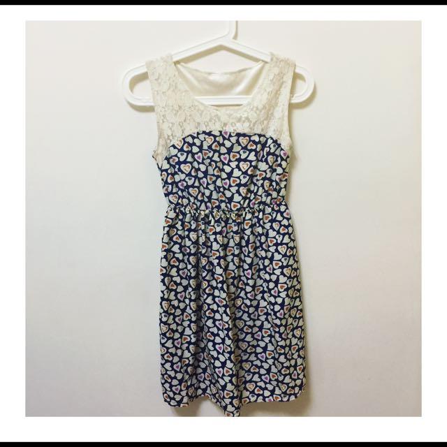 蕾絲氣質小洋裝💕