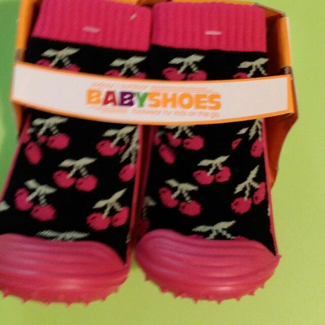 ♡防滑橡膠學步襪鞋♡