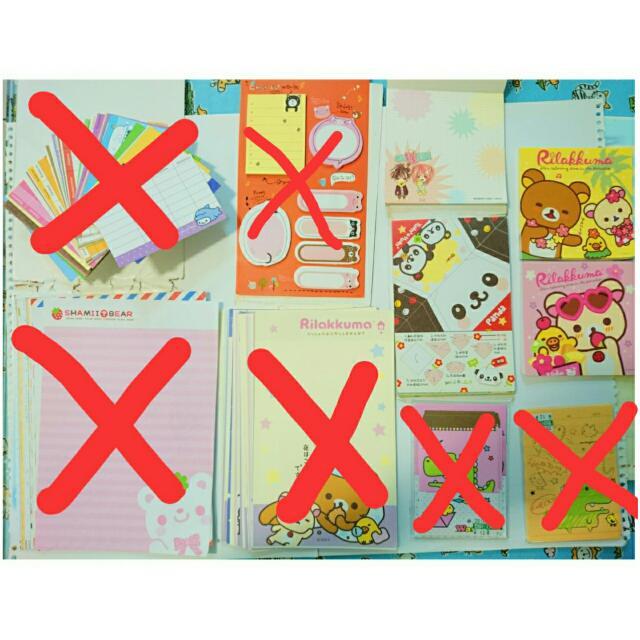 (免費)信紙、便條紙、名片卡