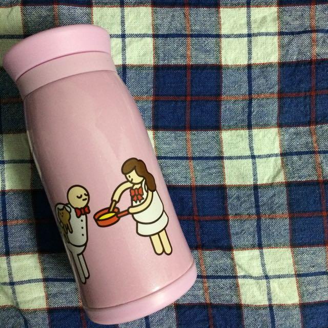 舉牌小人保溫瓶 含運