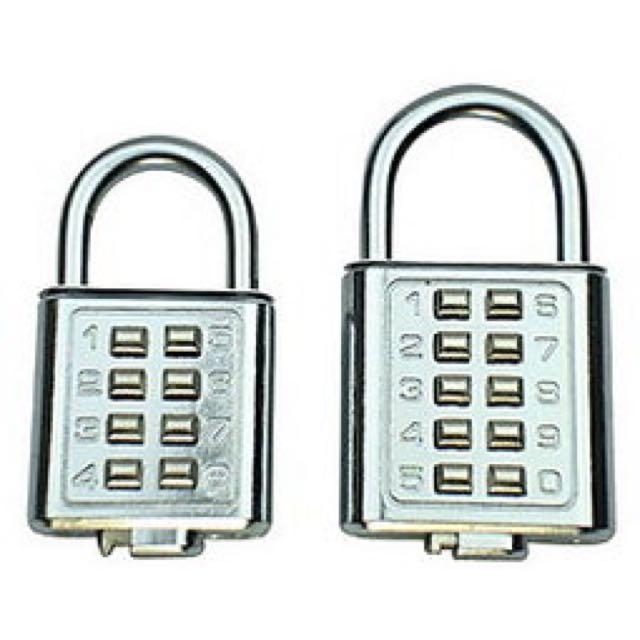 實用密碼鎖 (左)