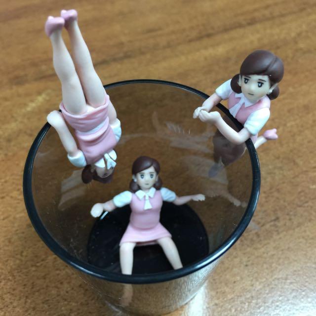 (售)二代粉紅色杯緣子 三隻合售 300元含郵局掛號