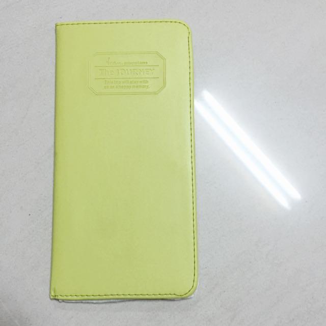 (已預定) 蘋果綠 多夾層 護照夾