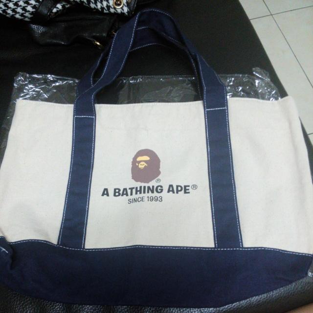 A BATHING APE 帆布袋