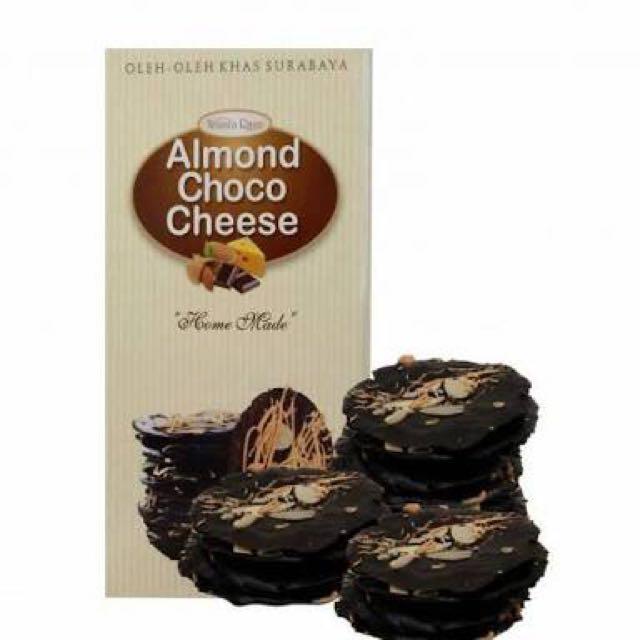 Almond Crispy Cheese Wisata Rasa Food Drinks On Carousell