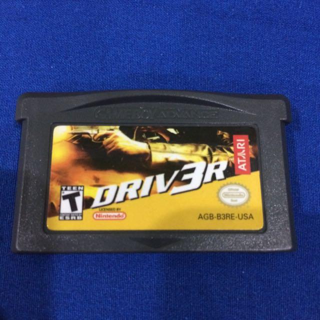 Gameboy Advance SP Games
