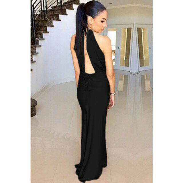 Halter Ringfiest Evening Dress
