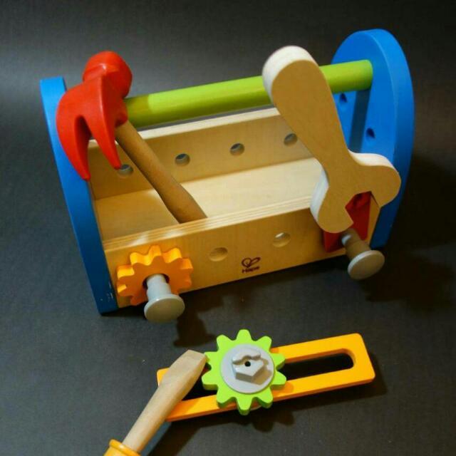 德國Hape愛傑卡 工具箱。。