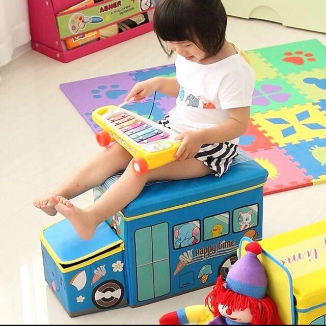 🍼Ready Stock🍼 Kids Toy Storage Box