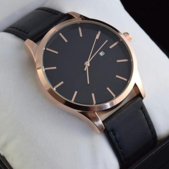 Casual Genuine Leather Watch - Miyota Quartz