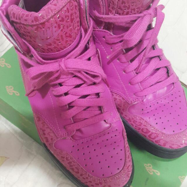 Nike粉紅色女鞋