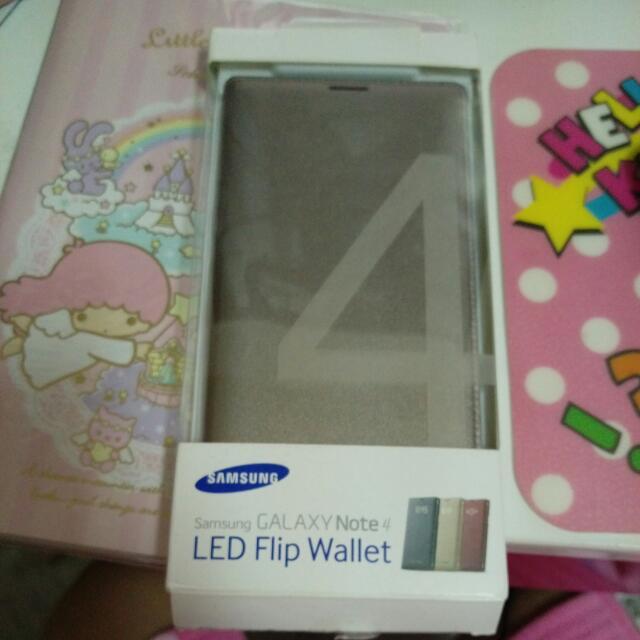 Note4 原廠手機炫彩保護套