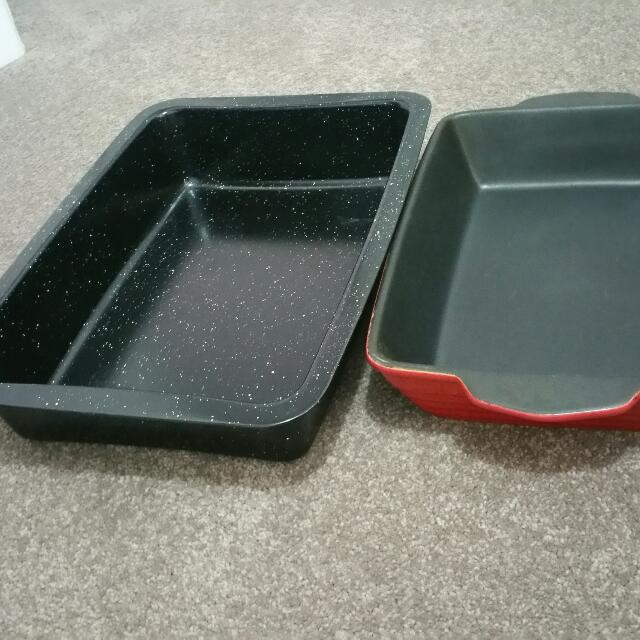 Roasting Tray And Heavy Based Baking DISH