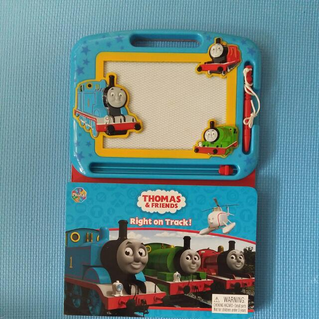 Thomas Friends Drawing Screen Book New Toys Games On Carousell