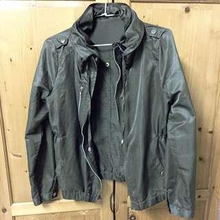 (已預訂)墨綠色 輕薄防風外套