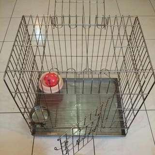 輕巧不鏽鋼粗鐵鐵狗籠