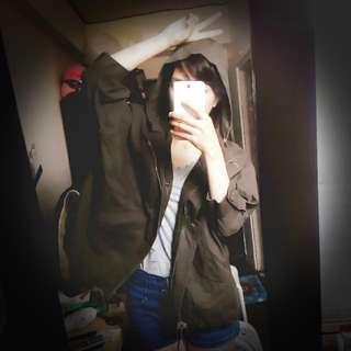 [可愛限定] 小紅帽 飛鼠袖 風衣 外套