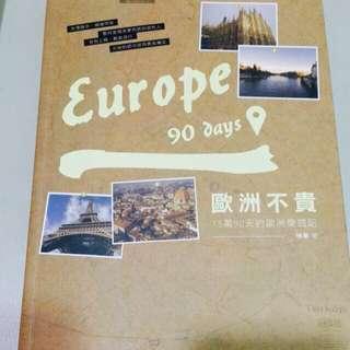 歐洲不貴:15萬90天遊歐洲