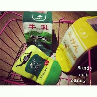 罐裝飲料🍹  可愛日韓棉襪