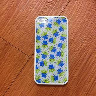 iPhone 5/5s 滿版三眼怪組合式手機殼💚