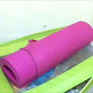 Exercise/Yoga Mat in Pink