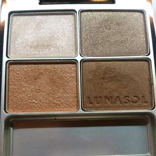[售出]佳麗寶lunasol 砂景淨化眼影組合  四色