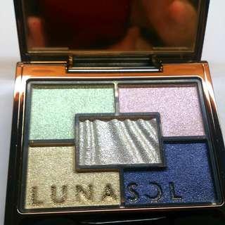 [售出]佳麗寶lunasol Nuance Variation 眼影  波光01