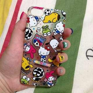 2手iPhone 5手機殼!正版SANRIO~便宜賣