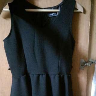 Airspace黑色小洋裝