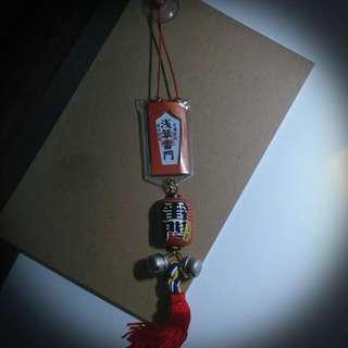 🚚 淺草雷門吊飾(日本帶回)