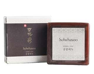 韓國sulwhasoo-雪花秀宮中蜜皂潔面皂