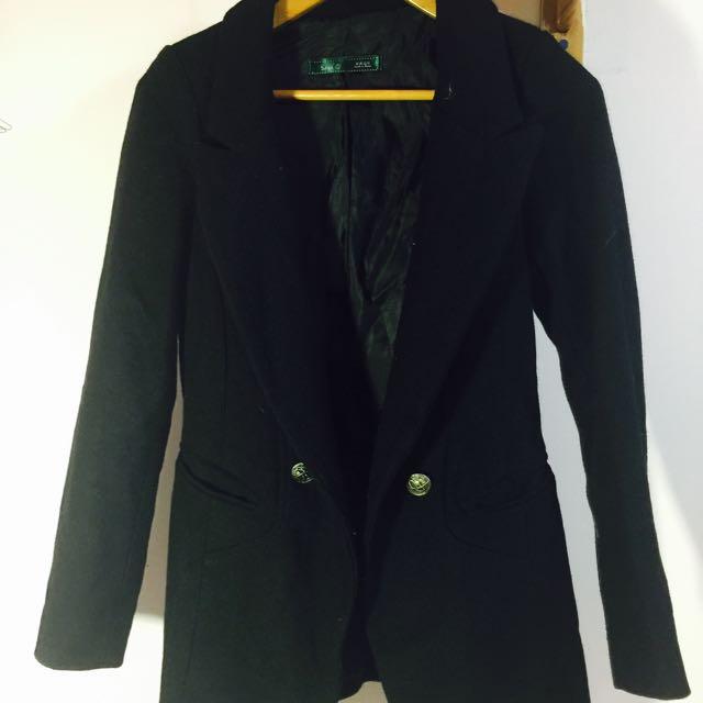 2⃣韓國超挺短大衣 S