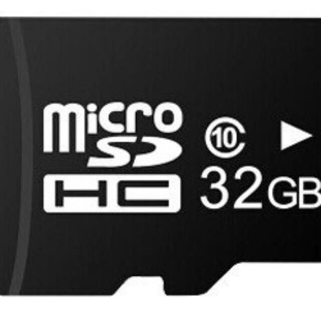 32G記憶卡買再送讀卡機 microSD 適用插卡喇叭 藍芽喇叭 藍芽耳機 相機 手機 行車記錄器