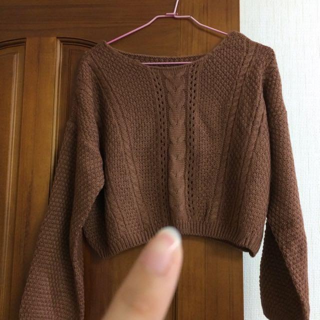 全新🍂短版針織衫