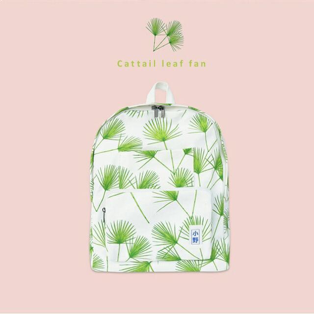 原創 小野植物系列雙肩後背包